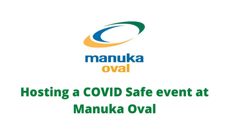 Hosting a COVID Safe event at Manuka