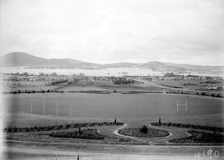Manuka Oval 1928