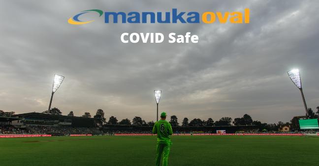 Manuka Oval COVID Safe