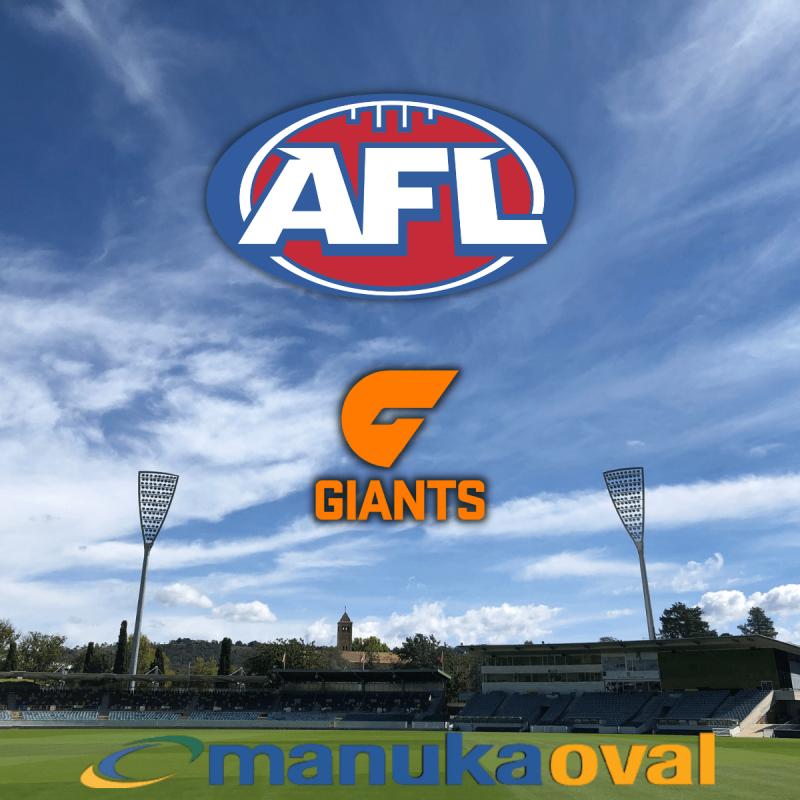 Upcoming fixtures at Manuka Oval